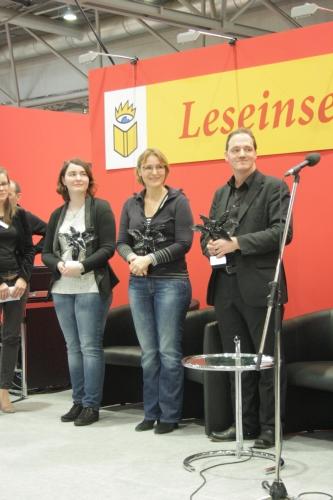 Hanna Kuhlmann, Nina Blazon, Daniel Illger ©Eva Bergschneider