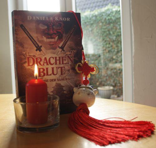 Drachenblut-Das Erbe der Samurai - Daniela Knor, Adventsverlosung 16. Dezember