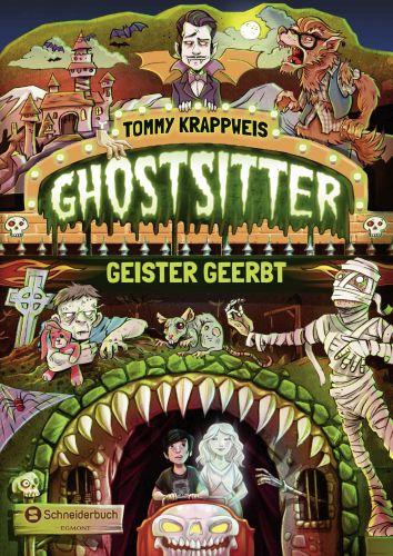 Ghostsitter-Geister geerbt - Tommy Krappweis © Egmont Schneiderbuch