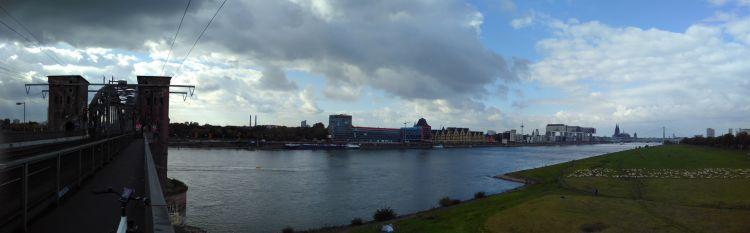 Panorama Köln ©Eva Bergschneider