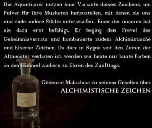 Alchimistisches Zeichen © Christian Vogt