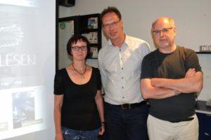 Mit Martin Schwertner, Gero Karaschewski © Bürgervereinigung Ostheim
