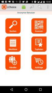 LChoice-Smartphone-App © LChoice