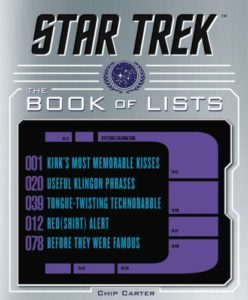 Star Trek-The Bok of Lists © Harper Collins
