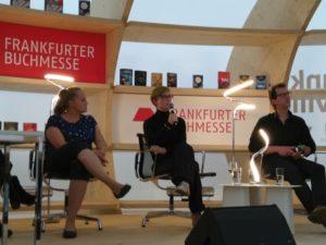 Theresa Hannig, Judith Vogt, Jens Lubbadeh © Eva Bergschneider