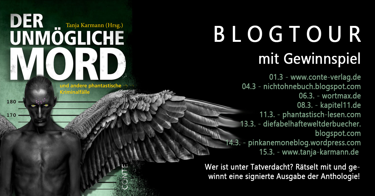 "Blogtour ""Der unmögliche Mord"" © Conte-Verlag"
