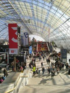 Treppe Leipziger Buchmesse © Eva Bergschneider