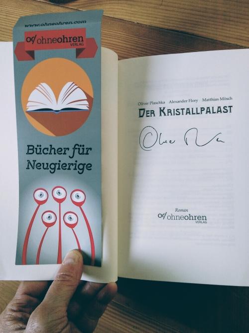 Signatur Oliver Plaschka © Eva Bergschneider