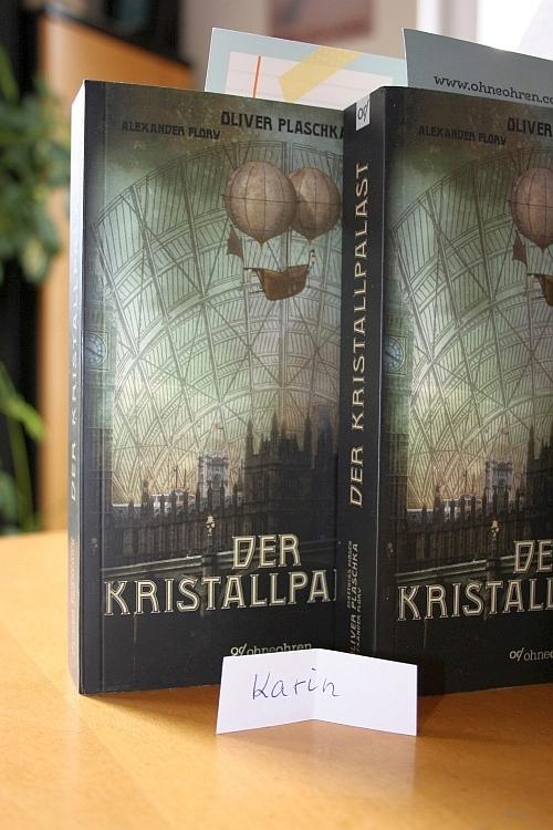 Verlosung Kristallpalast 1.Gewinnerin © Eva Bergschneider