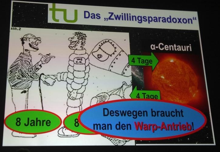Warp-Antrieb PAN2019 © Eva Bergschneider