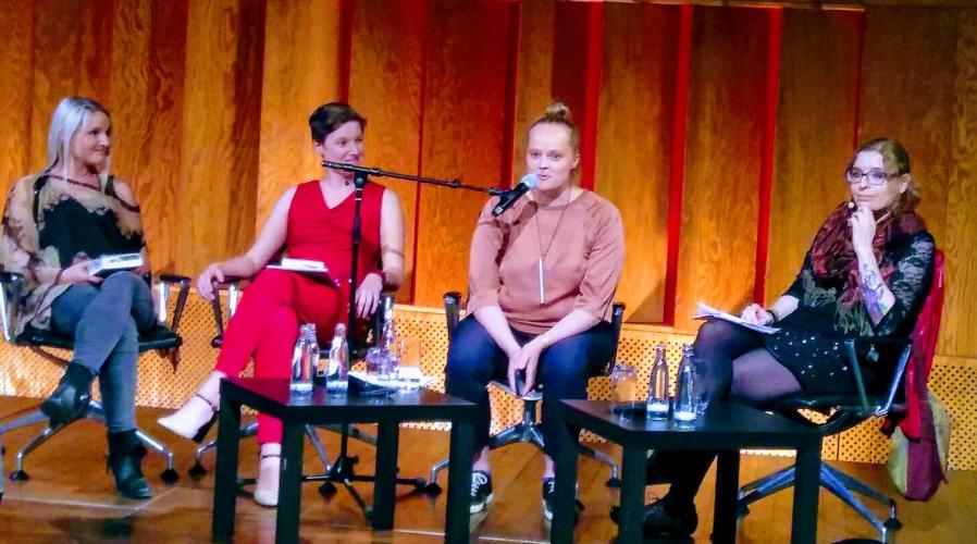 Stefanie Hasse, C.E. Bernhard, Theresa Hannig, Laura Flöter PANBT2019 © Eva Bergschneider