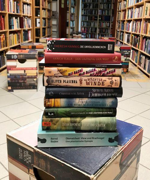 Longlist 2020 ©Phantastische Bibliothek Wetzlar