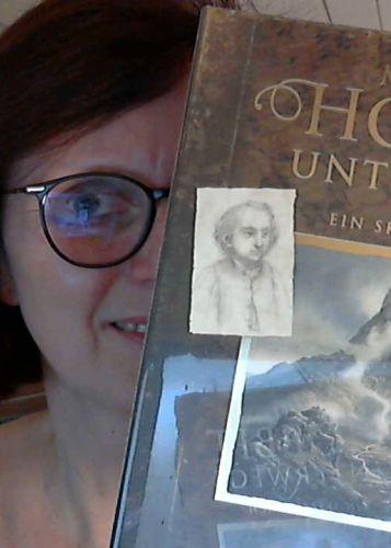 Auslosung Mit dem Hobbit unterwehs, Skizzenbuch von Alan Lee © Eva Bergschneider