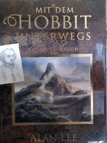 Mit dem Hobbit unterwegs-Skizzenbuch von Alan Lee © Cover auf dem Vorschaubild: Hobbit Presse