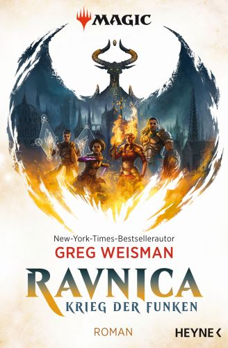 Magic-The Gathering-Ravnica - Greg Weisman © Heyne